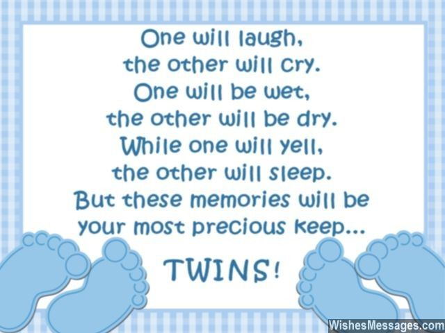 best poems images on   baby twins, twin quotes and, Baby shower invitation