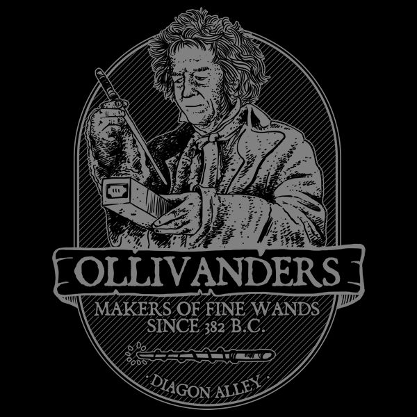 Maker of Fine Wands - Maker of Fine Wands. Well jt seems like he doesn't need horcruxes, nor the philosopher's stone, nor the deathly Hallows to live a long life, that Olivander.