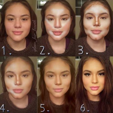 Make up basics for dummies.