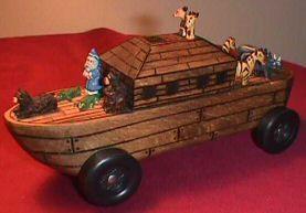 pinewood derby image - arc car