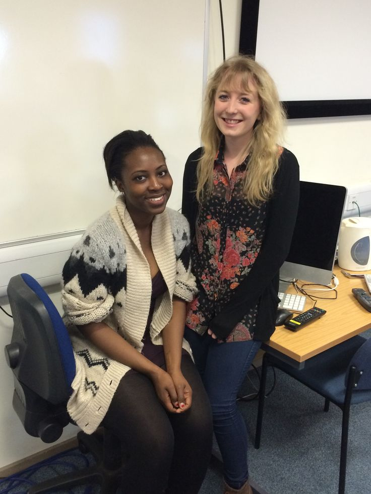 Our lovely Editor Nikita Lewis (left), and Deputy Editor, Abi Brown (right). http://buzz.bournemouth.ac.uk/