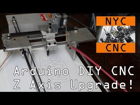 Diy Arduino Cnc Z Axis Upgrade Amp Chilipeppr Widget34