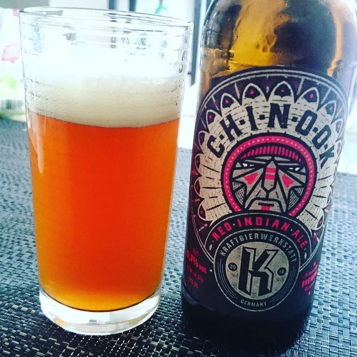 Indian red ale by @kraftbiereerkstatt  #redale #ale #beer #craftbeer #craftbier #Bier #beer #Germanale #instabeer #instaweekend #tgif #thankgoditsfriday #chinook