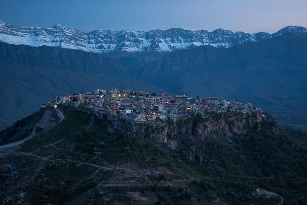 Amedi - one of the oldest cities in the world, once capital of the Medes, an ancient Kurdish Tribe.