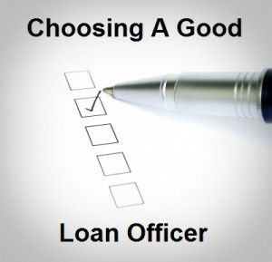 Good loan officer - A check list