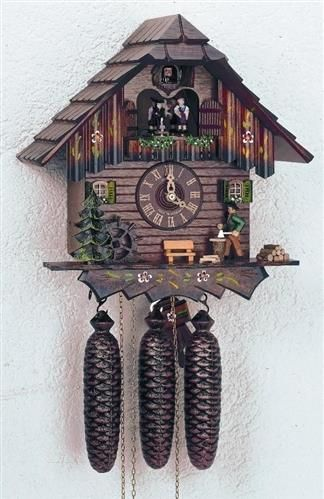 Black Forest Cuckoo Clock with Animated Figures 8TMT-5405-10. h1Black Forest Cuckoo Clock with Animated Figures 8TMT-5405-10_h1The Black Forest Cuckoo Clock with Animated Figures 8TMT-5405-10. An wonderful example of traditional cuckoo clock craft, this German cuckoo clock features .. . See More Cuckoo Clocks at http://www.ourgreatshop.com/Cuckoo-Clocks-C1122.aspx