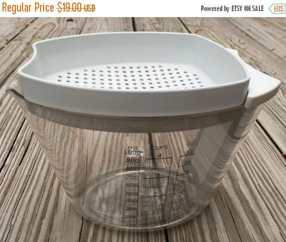 Sale Gravy Separator Pampered Chef Appears  Brand New With Directions Vintage by TreasureofMemories on Etsy