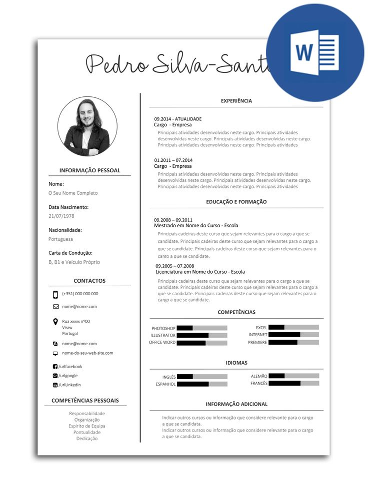 the 25  best modelo cv ideas on pinterest