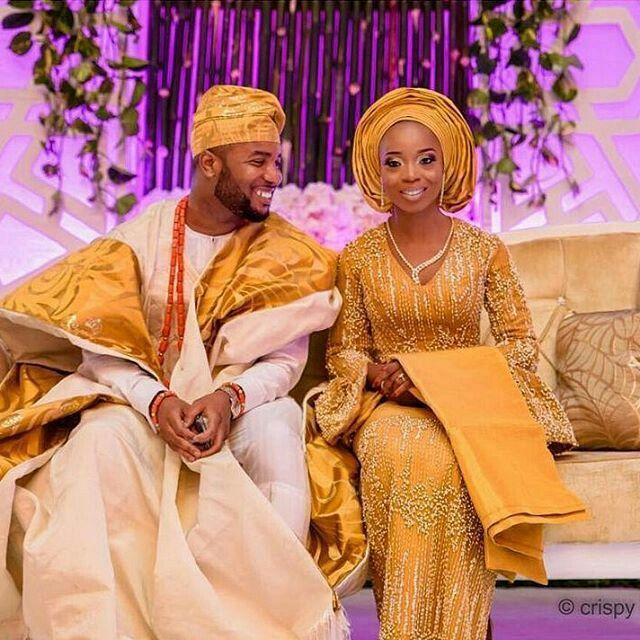 Yoruba Traditional Wedding Attire Styles Updated 2020 Couture Crib Traditional Wedding Attire African Wedding Attire Nigerian Wedding Dresses Traditional