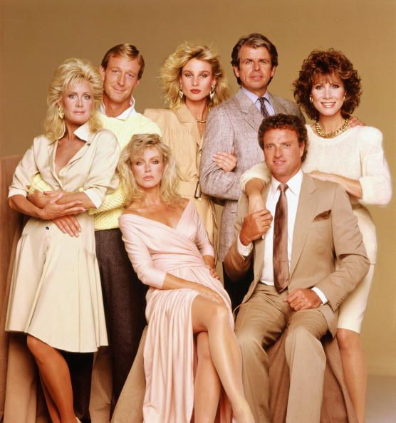 Knots Landing. My favourite soap ever! Nicolette Sheridan has always been great at playing a bitch!
