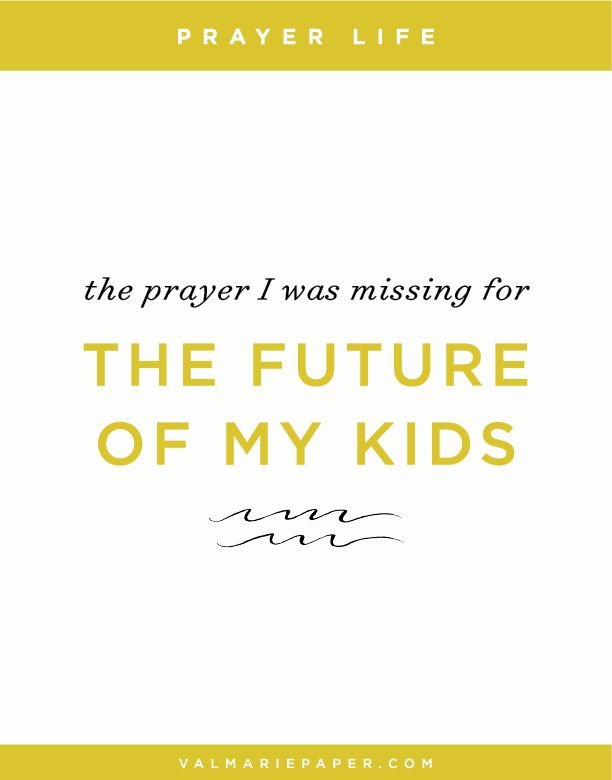 If our desire is to raise kids that look more like Jesus, why do we spend the majority of our time focused on praying for a comfortable life?
