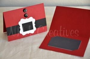 Santa Coat Gift Card Holder by Crazynanna