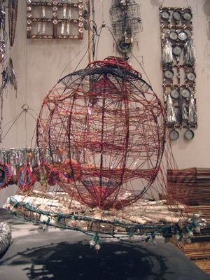 Emory Blagdon was untrained in art, isolated in his rural Nebraska home, personally eccentric and, most important, the creator of stunningly innovative, delicate and beautiful work. He filled his work shed with assemblages intended to be healing machines but that also happened to be objects of beauty.