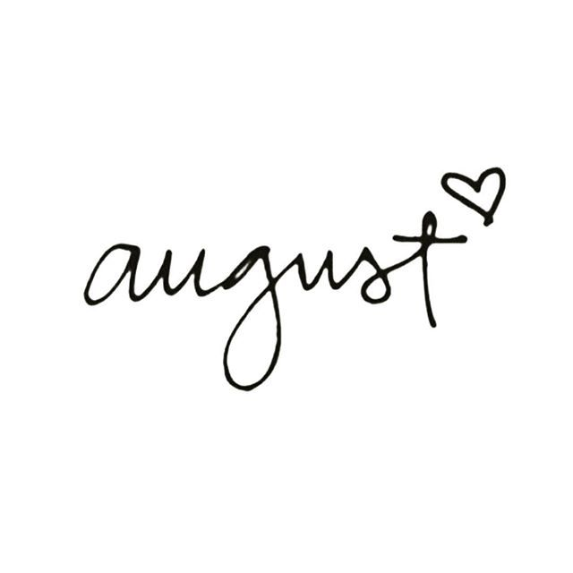 hello, august... #quote #quotes #inspiration #inspo #katierebekah ♡