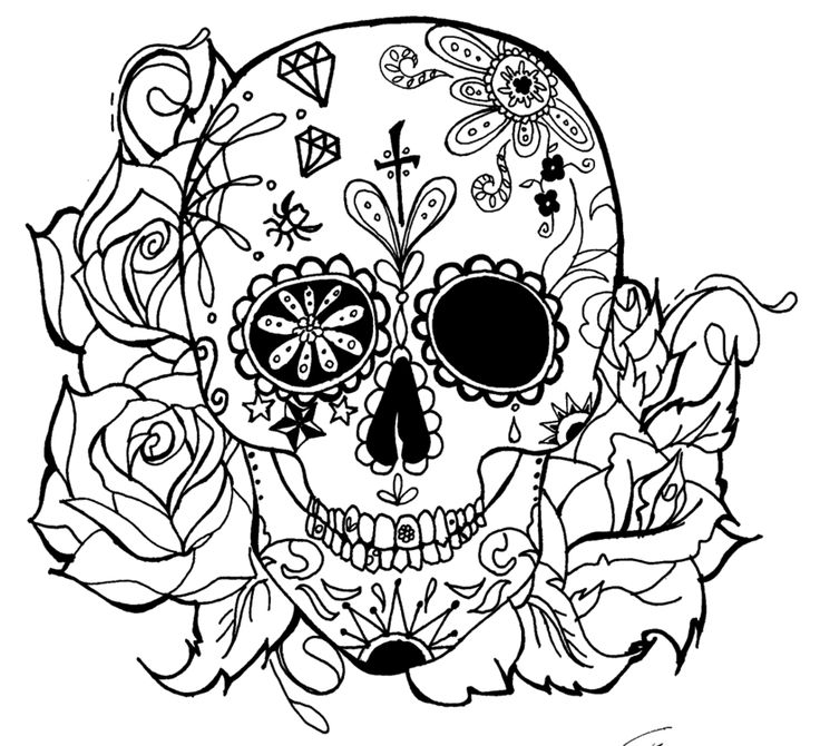 skull candy tattoo by green alliend6h7rfppng