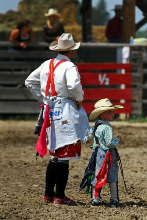 Bull Fighters Rodeo Clowns Was The Old Term