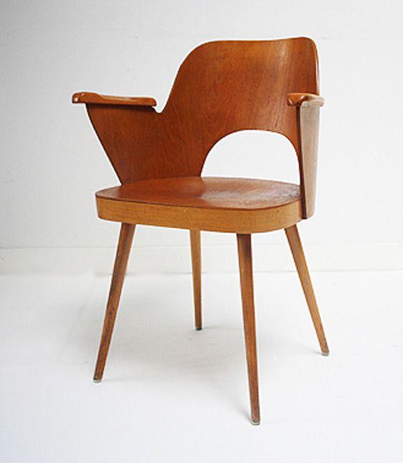 Bentwood Armchair by Thonet Vienna, 1955.