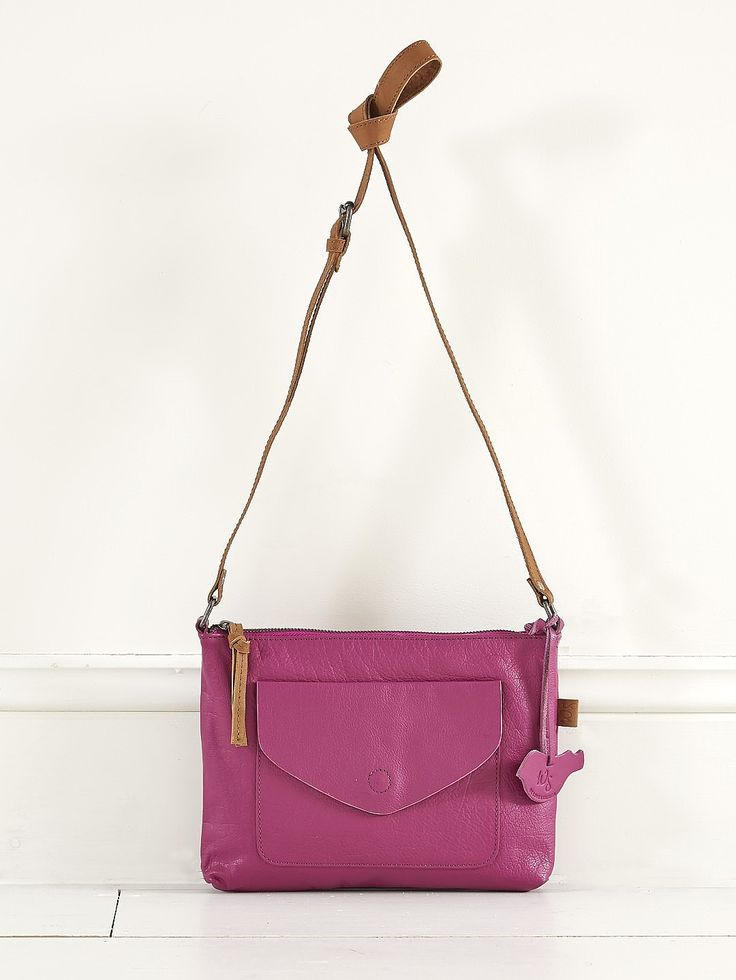 Womens amethyst dandy envelope crossbody from White Stuff - £39.95 at ClothingByColour.com