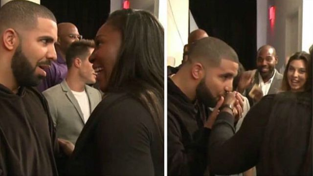 Serena Williams may have lost at the U.S Open but it looks like she may have won Drake's heart.