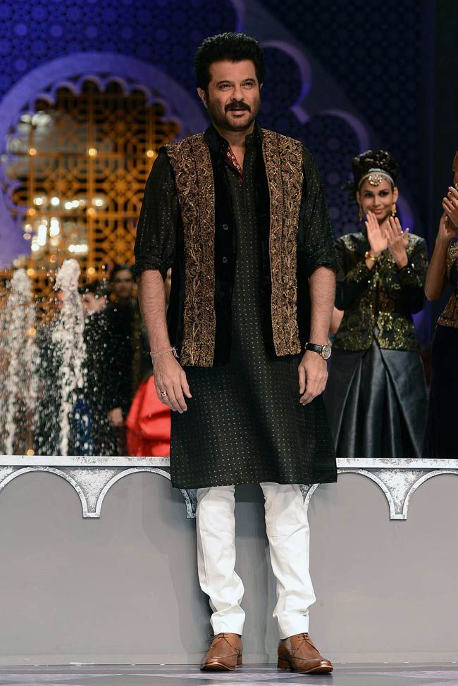 Aamby Valley India Bridal Fashion Week, 2013 |  Anil Kapoor who walked the ramp…