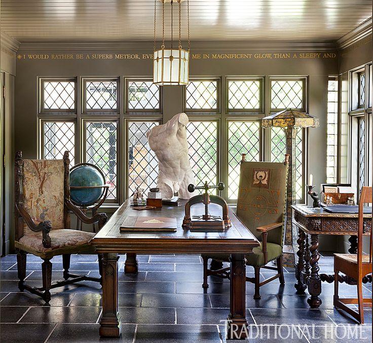 Meticulously Restored Tudor House in Utah 208
