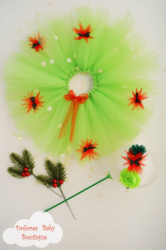 Baby Christmas Tutu Baby Christmas Headband by DoloresBabyBoutique
