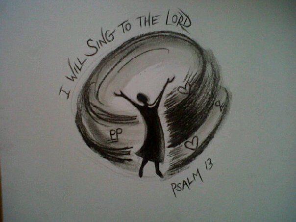 Praises! Prophetic Charcoal artwork by Dion James Raath