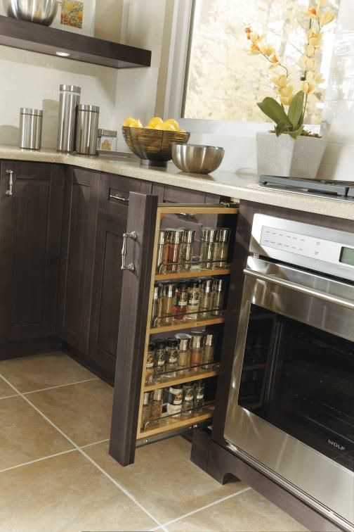 Organizations Storing Spices And Kitchens On Pinterest