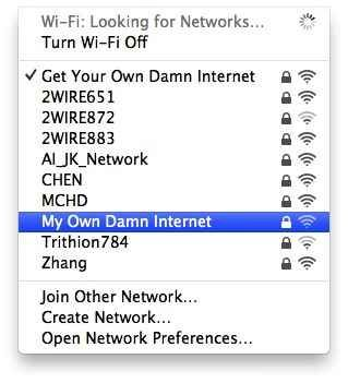 They really showed him. | 29 Most Passive Aggressive Wi-Fi Network Names