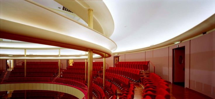 Armin Linke Carlo Mollino, Auditorium RAI, Torino, Italy c-print 50 x 60 cm ed. 5