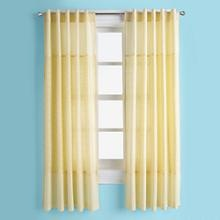 Kids Curtains: Kids Yellow Eyelet Curtain Panels in Curtains & Hardwares | The Land of Nod