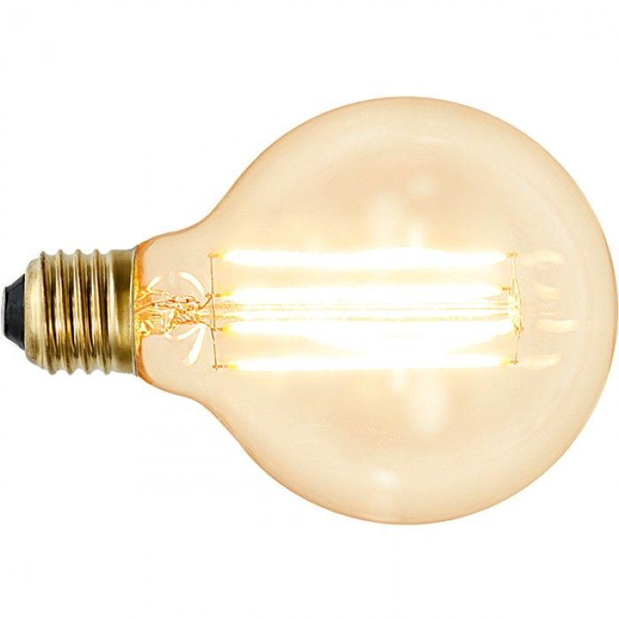 Superb Soft Glow LED Globe G W udW E klar dimmbar