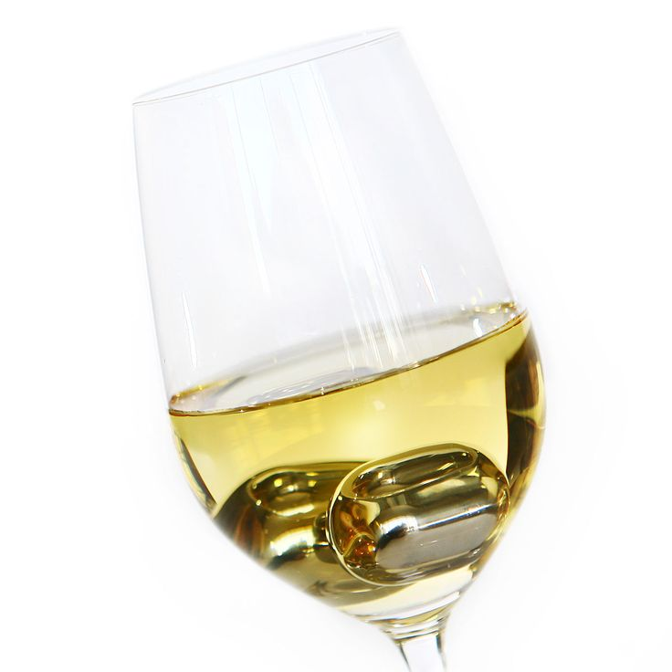 Keep white wine chilled or bring your red wine to the right temperature in no time-- WINE PEARLS  UncommonGoods