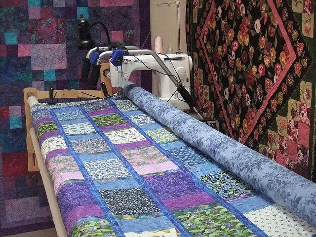 Convert Your Machine to Do Long Arm Quilting? - Keeping u n Stitches Quilting | Keeping u n Stitches Quilting