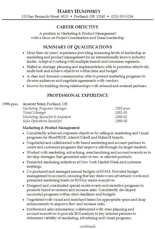 Resumes Examples For Retail resume examples Pinterest Resume - examples of retail resumes