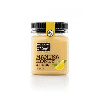 Мед Манука New Zealand Honey Co. 10+ с лимоном  (250г) - купить в Киеве и Украине у интернет-магазина Плантация