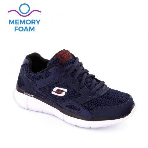 Pantofi sport baieti Equalizer Navy - Skechers