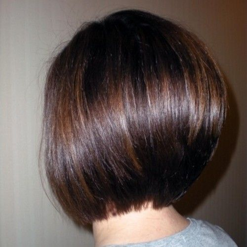 Perfection! This is how a bob should look in the back!