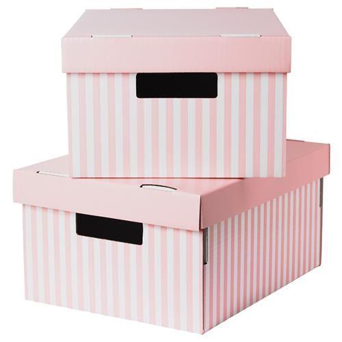 PINGLA χάρτινο κουτί με καπάκι - IKEA