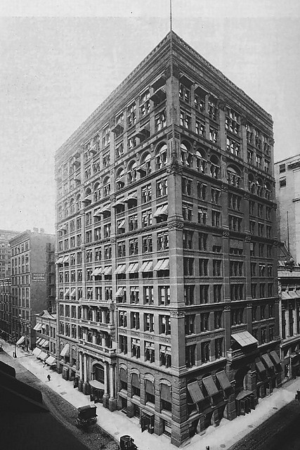 """The World's First Skyscaper"" - The Home Insurance Building by William Le Baron Jenney was the first building to house structural steel in its construction and resulted in the subsequent creation of our world's tallest and largest buildings."