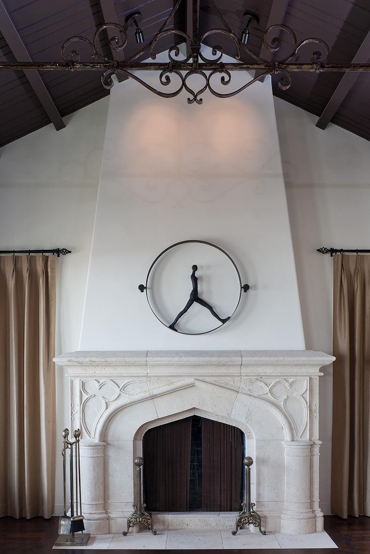 Spanish Fireplace IDEAS Santa Barbara Pinterest