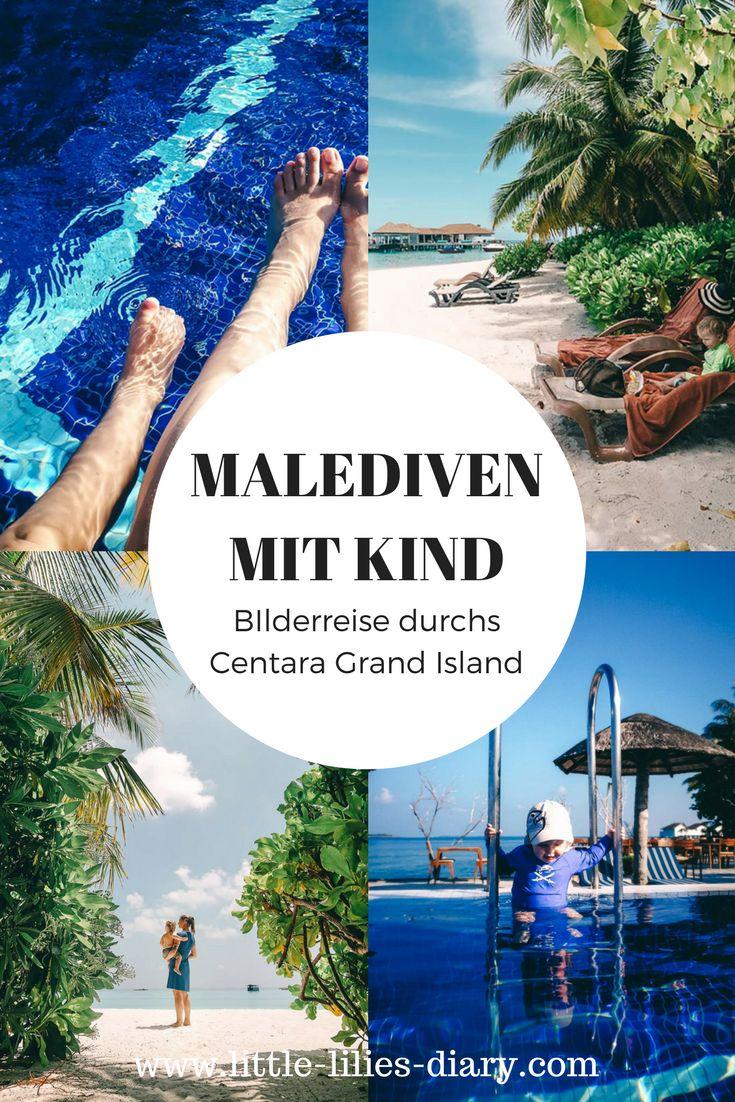 Sommer Urlaub mit Kindern? Der perfekte Mix aus Entspannung und Action bekommt ihr im Centara Grand Island Resort während eures Malediven Familienurlaub. Erfahrt auf www.little-lilies-diary.com, wie toll die Malediven mit Kleinkind sein können!