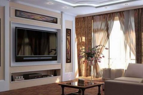 Дизайн гостиной площадью 18 метров