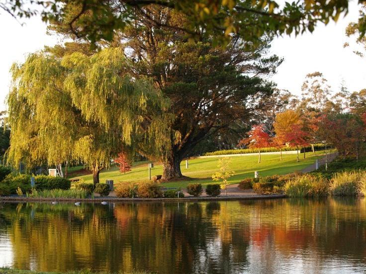 Autumn in the Blue Mountains, Katoomba, Australia, 2007