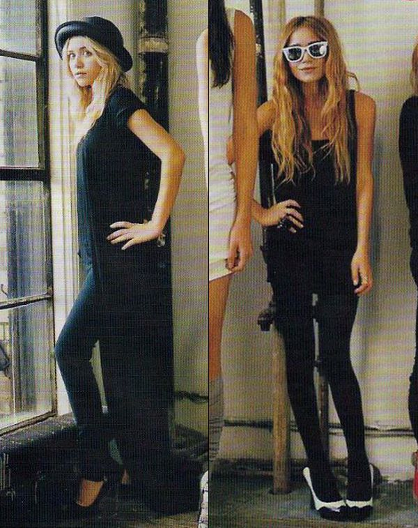 MKA | THE ROW | VOGUE MAGAZINE 2006 -- Click to get the look...