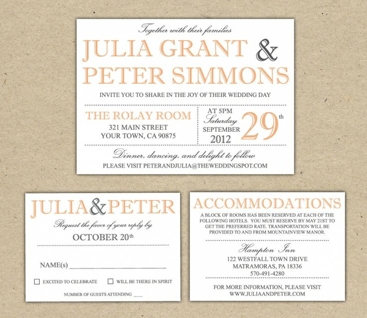 47 best Printable Invitation images on Pinterest Invitations - free dinner invitation templates printable