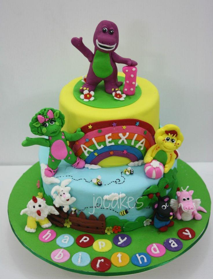 barney cake - photo #26