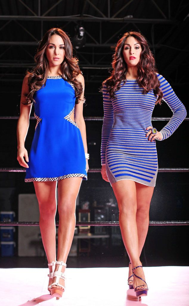 12 Things You Probably Didn't Know About the WWE Divas Nikki and Brie Bella  Brie Bella, Nikki Bella, Total Divas