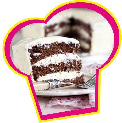 Chocolade crèmecake