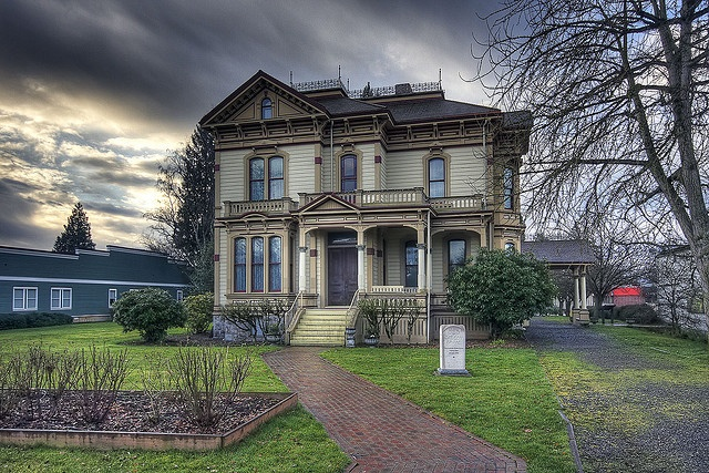 Meeker Mansion in Puyallup, Washington, USA